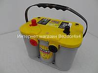 Гелевый акумулятор Оптима 55 Ач 765 А желтый
