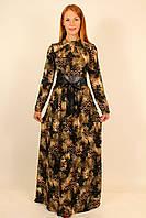 Длинное теплое платье 44-46-48 р
