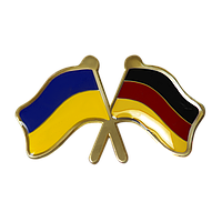 Значок Украина-Германия