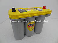 Гелевый акумулятор Оптима 75 Ач 975 А желтый