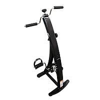 🔝 Велотренажер для рук ног Dual Bike, кардиотренажер для похудения, с доставкой по Украине   🎁%🚚
