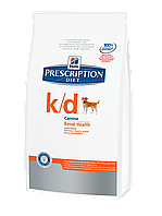 Корм для собак Hills PD Canine K/D 5 кг, хиллс при почечной недостаточности, болезнях почек у собак