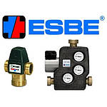 Насосно-смесительные узлы, термосмесительные узлы ESBE