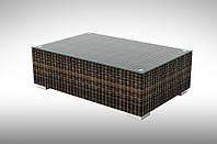 Столик плетеный кофейный Brillante 110х72х36см