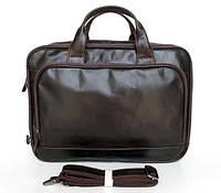 Кожаная функциональная сумка
