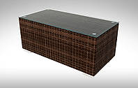 Стол плетеный кофейный Aperto 100x50