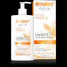 EVELINE cosmetics 250мл Lacta MED: гель для интимной гигиены 3в1 SOS для ежедневного использования - Модный Магазин в Хмельницком