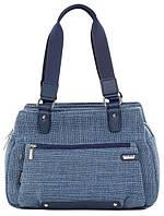 Женская городская сумка Dolly 479 темно-синяя