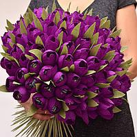 Букет из конфет. Букет з цукерок. Тюльпаны на 8 марта. Сладкий подарок. Букет к 8 марта.