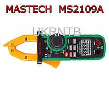 Токовые клещи MASTECH MS2109A / 0,01-600 А (AC/DC, графический бар, фонарь) / Токоизмерительные клещи
