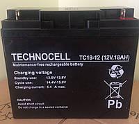 Аккумуляторная батарея аккумулятор TC 12В 18Ач