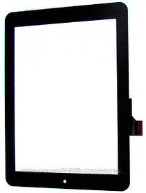 """Тачскрин (сенсор) 8"""" Prestigio MultiPad 2 PMP5580С (C152201A1), black (черный)"""