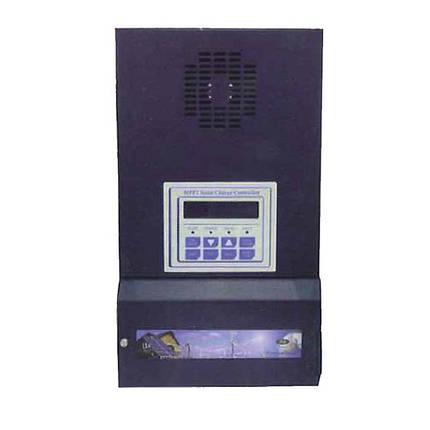Контролер заряду акумуляторних батарей для сонячних модулів PM-SCC-80AM, фото 2