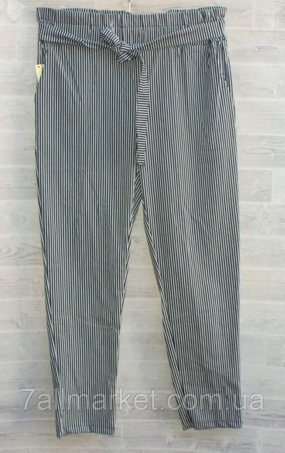 """Штани жіночі в смужку розмір 44-48 """"FLORA"""" купити недорого від прямого постачальника"""