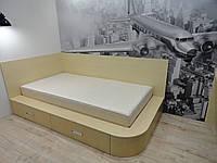 Кровать подиум радиусная для ребенка
