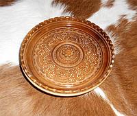Тарелка резьбленная, фото 1