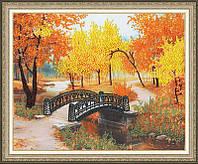 """Набор для вышивания бисером """"Осенний парк"""""""