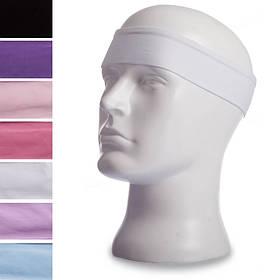Повязка на голову из хлопка Zelart CO-9502 (хлопок, эластан, безразмерная, цвета в ассортименте)