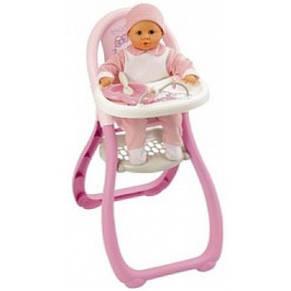 Стульчик для кормления пупса Baby Nurse Smoby, фото 2