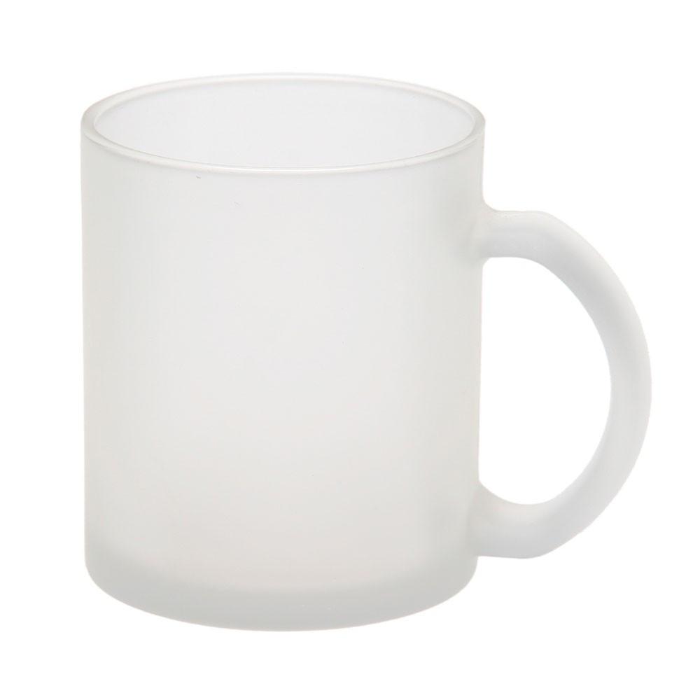 Чашка стеклянная 'Фрозен', 300мл, матовая, цвет Бесцветный