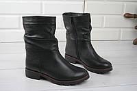 """Ботинки, сапоги, черные ДЕМИ """"Klark"""" НАТУРАЛЬНАЯ КОЖА качественная, повседневная женская обувь"""