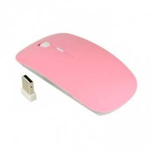 Беспроводная компьютерная мышь Apple розовая