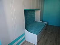 Встраиваемая стенка-кровать в детскую