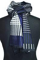 Стильный кашемировый мужской шарф в полоску BRO