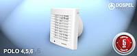 Вентилятор настенный  DOSPEL POLO 4 100AZ WCH c автоматическим жалюзи и регулируемым гидростатом