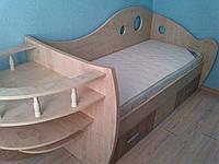 Кроватка для ребенка корабль