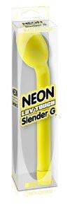 Вибратор для точки G и массажер простаты Waterproof Neon Luv Touch Slender G