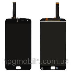 """Дисплейный модуль (дисплей + сенсор) для Meizu MX4 Pro 5.5"""" (M462U), черный, оригинал"""