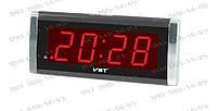 Компактные Электронные часы Led Alarm oclock VST 730-2 Современный дизайн Подарок другу настольные часы