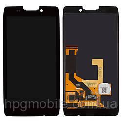 Дисплейный модуль для Motorola Moto X XT1053, XT1055, XT1056, XT1053, с рамкой, черный, оригинал