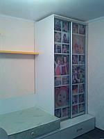 Шкаф-купе с фотопечатью для детской