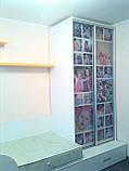 Шкаф-купе с фотопечатью для детской, фото 2