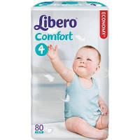 Подгузник Libero Comfort 4 (7-14 кг), 80 шт (7322540592023)