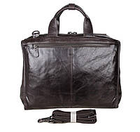 Кожаная сумка мужская для ноутбука