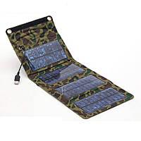 Складная солнечная панель, батарея USB 7Вт 5.5В