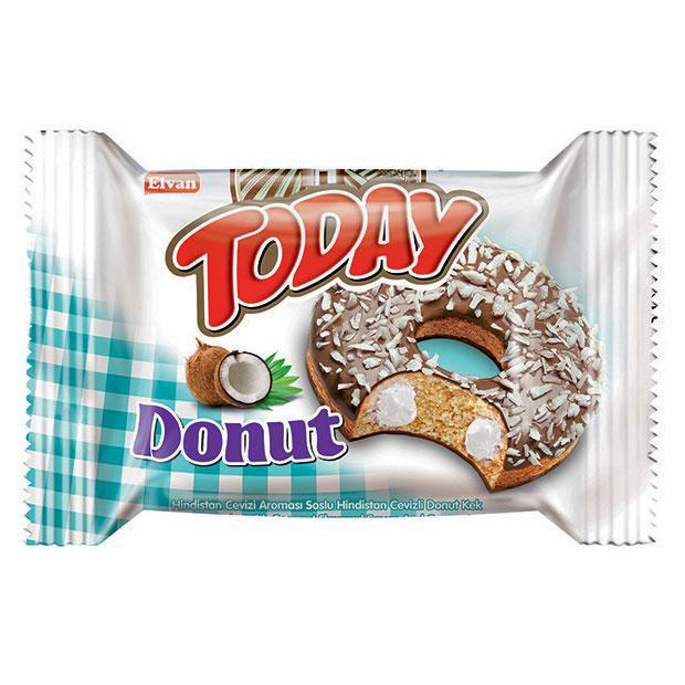Пончик TODAY DONUT Кокос 50г
