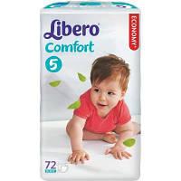 Подгузник Libero Comfort 5 (10-16 кг), 72шт (7322540592047)