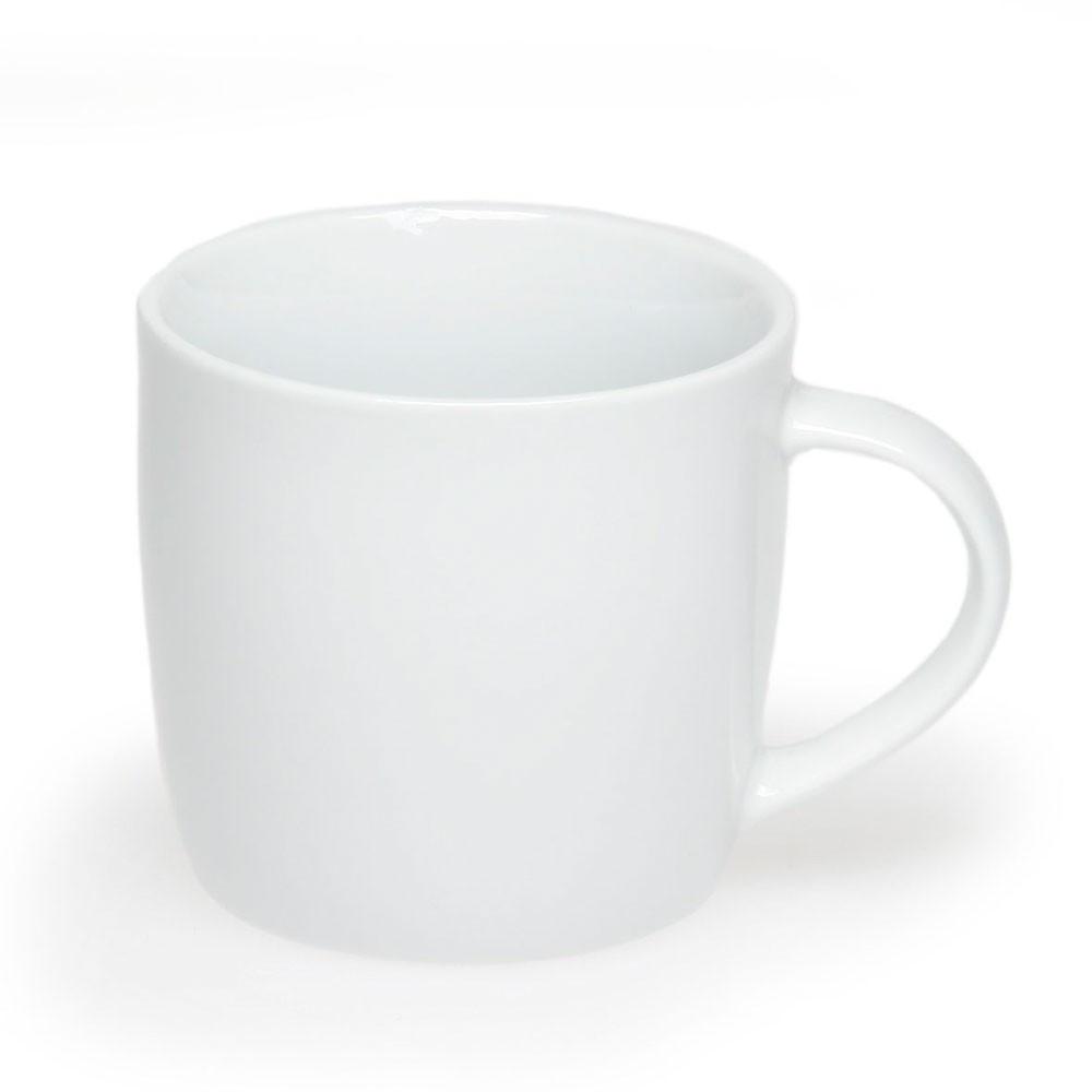 Чашка керамическая 'Боксер', 300мл, цвет Белый
