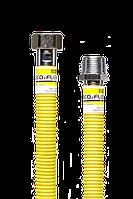 """Шланг для газа Eco Flex ПВХ(Super)нержавеющей гофротрубы 1/2"""" ВН 250см"""