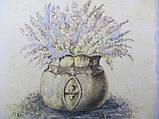 Картина на холсте в технике декупаж, 25х25 см, 125\95  (цена за 1 шт.+30 грн), фото 2