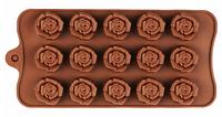 """Силиконовая форма для конфет """"Цветы"""" арт. 840-15A32346"""