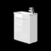 Тумба с раковиной Ювента Tivoli (Тиволи) TV-60 белый, 620х500х250 мм