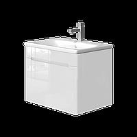 Тумба с раковиной Ювента Tivoli (Тиволи) TV-65 белая, 650х500х455 мм