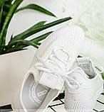 Кроссовки женские белая-сетка, фото 3