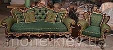 "Кресло в стиле барокко ""Белла"" в ткани, фото 3"