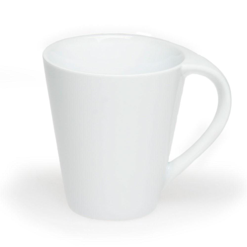 Чашка керамическая Симона, 300мл, цвет Белый